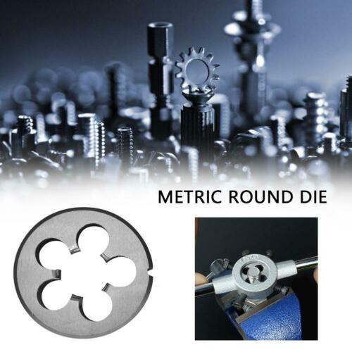 Alloy Steel Metric Fine Thread Die M10-18 Dies Threading Tools Lathe Model Maker