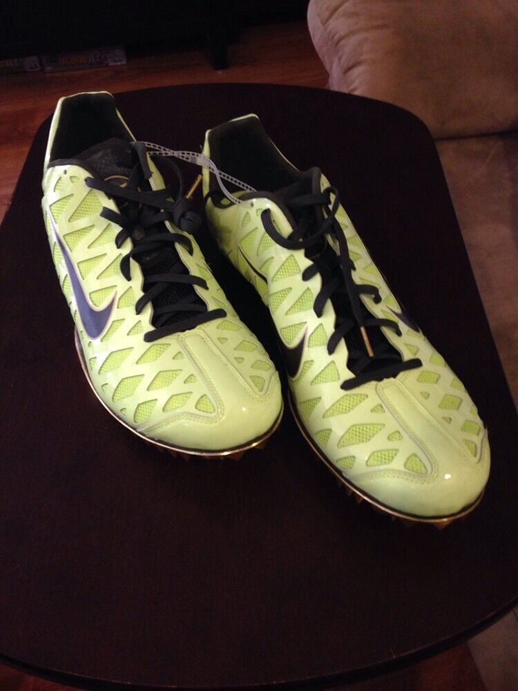 Nike Zoom Maxcat Running Spikes T/F Shoes, Mens 15  Neon Grn/yellow Reg Price reduction Cheap and beautiful fashion