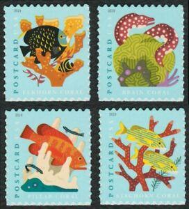 #5363-5366 Coral Arrecifes, Individuales, Nuevo Cualquier 5=