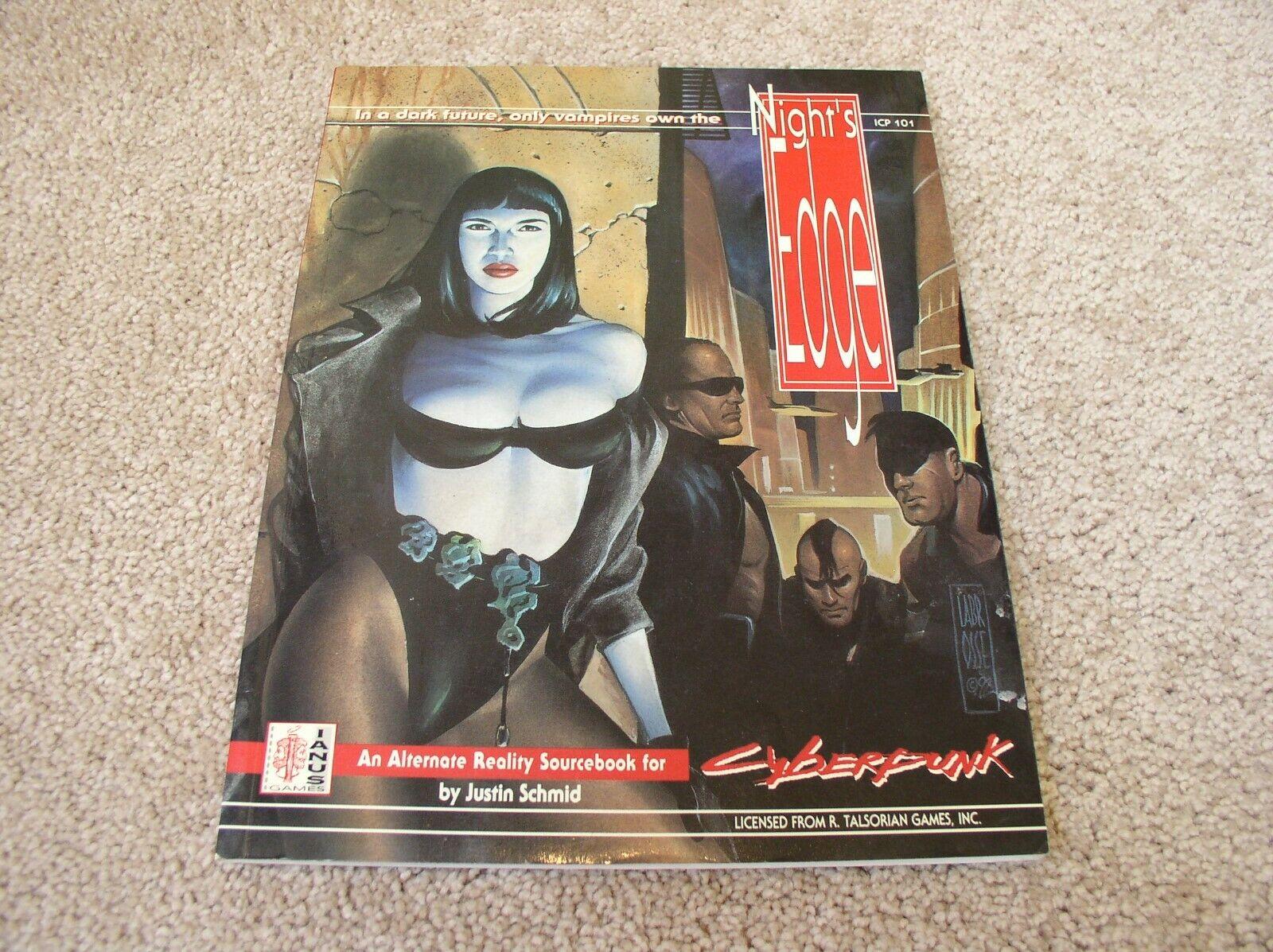Ianus Publications Cyberpunk Night's  Edge sourcelibro  marchio in liquidazione