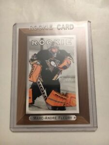 Marc-Andre-Fleury-RC-2003-04-UD-Bee-Hive-Rookie-SP-Golden-Knights