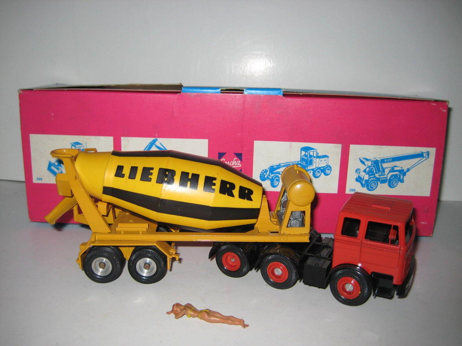 LIEBHERR HTM 1001 Mercedes Mixeur Rouge Jaune  3050.3 d'1 50 Neuf Dans Sa Boîte