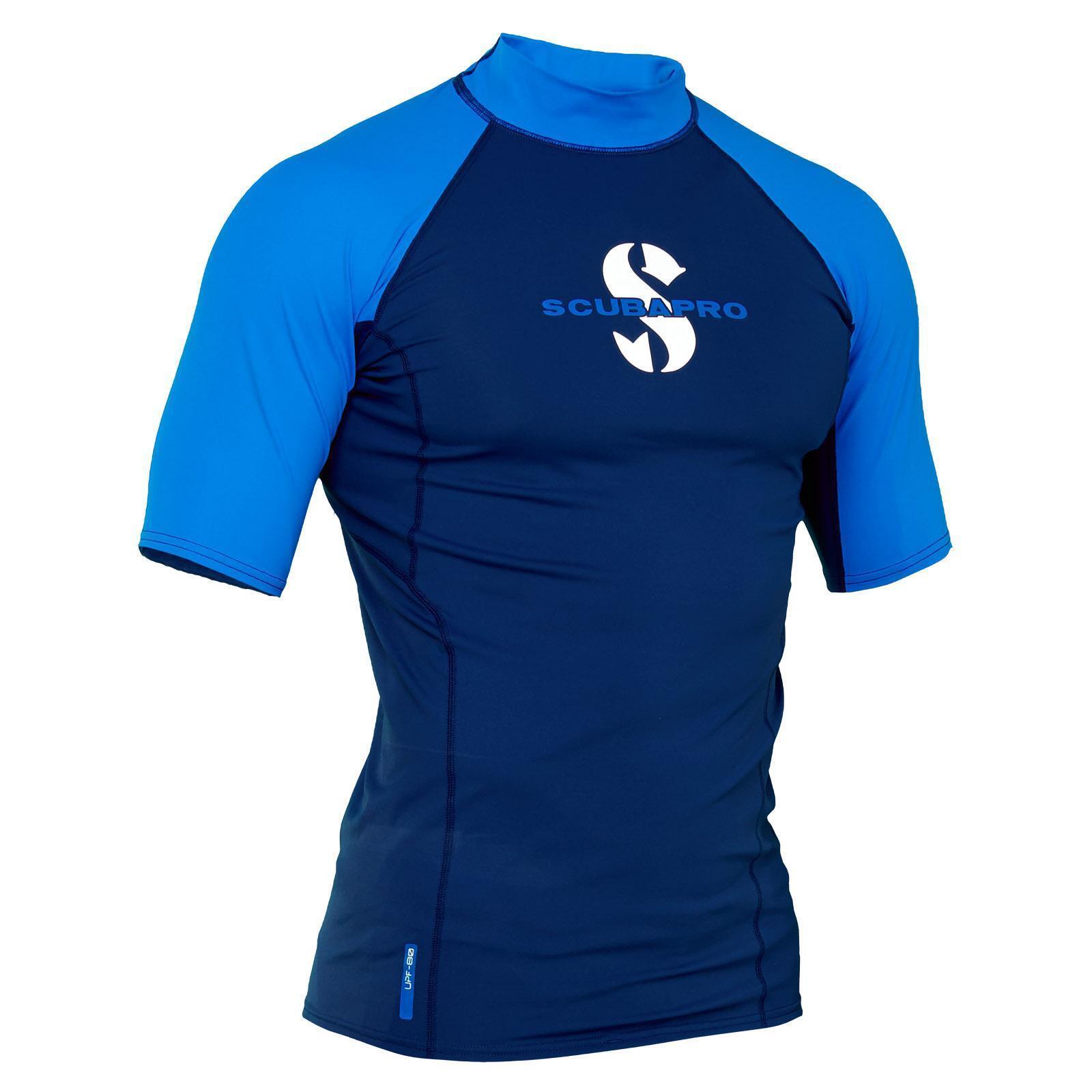 Scubapro T-Flex UV Shirt Aegean Water Sport Shirt (Herren Short Sleeve)