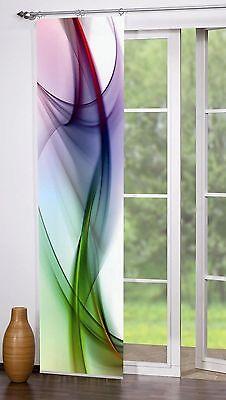 Flächenvorhang Schiebevorhang bedruckt 60x245cm Clifton multicolor bunt abstrakt