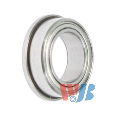 Miniature Ball Flanged Bearing WJB FR155-ZZ with 2 Metal Shields