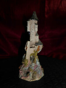 LiLLIPUT-LANE-Castle-of-The-Golden-Chalice-RARE-1986-Signed-by-painter-on-base