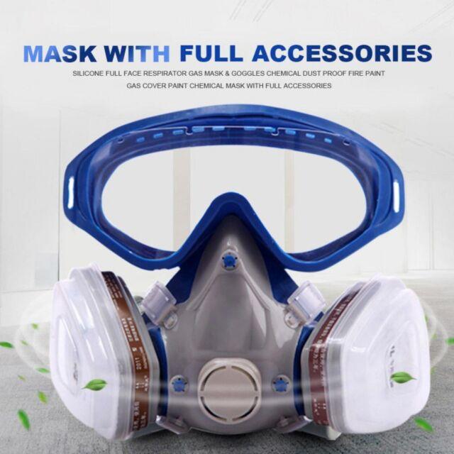 full face respirator mask for paint
