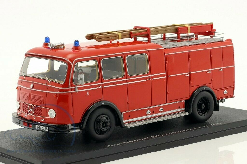 NEO MERCEDES-BENZ LPKO 311 PULLMAN TLF 16 FIRE DEPARTMENT 1 43