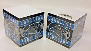 NFL-Carolina-Panthers-Note-Pad-Cubes-2-Cubes-NEW
