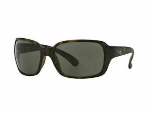 Ray Ban Sunglasses RB4068 894/58 60 Havana Frame Green Polarized Lens