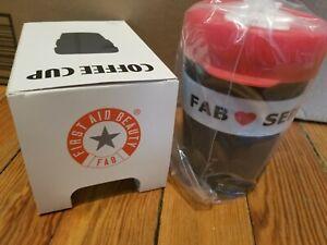FAB Sephora  Silicone BPA Free 340 ml Coffee Cup NIB