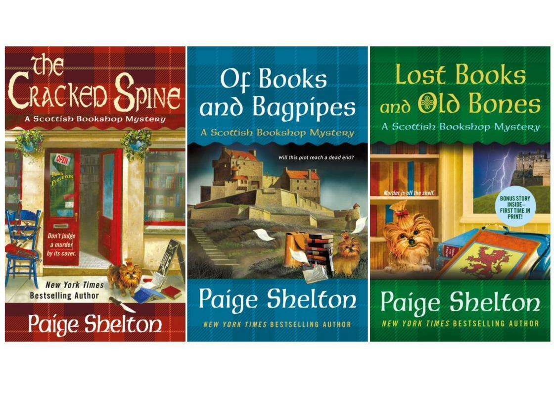 b4040e243b98 A Scottish Bookshop Mystery: The Cracked Spine : A Scottish Bookshop  Mystery by Paige Shelton (2017, Paperback)