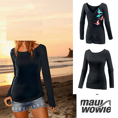 blau-koralle KP 29,95 € Gr Maui Wowie T-Shirt Damen M NEU!!