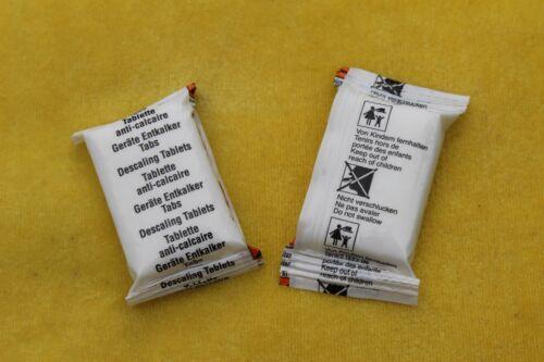 Kaffeemaschinen Reiniger Tabs B-Ware im Blister 2x10 Tabletten 1 Entkalkertab