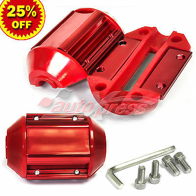 Magnetic Gas Fuel Saver UNIVERSAL For ALL Trucks & Cars RED CASING Shell