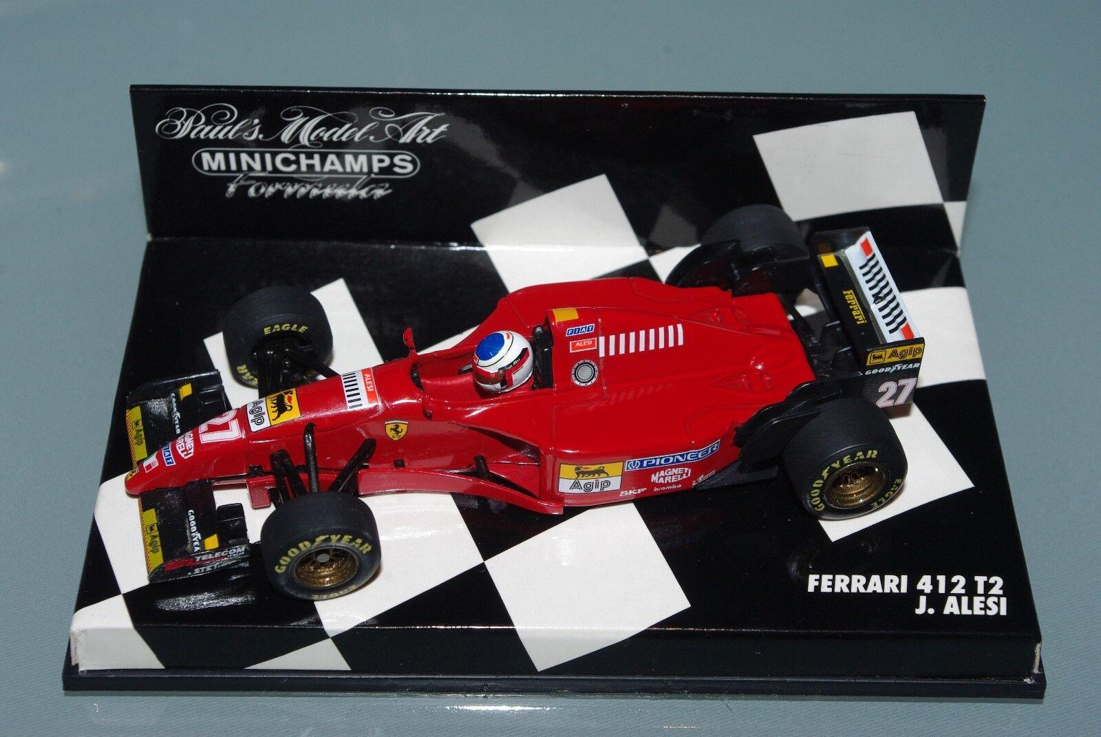 Minichamps F1 1 43 Ferrari 412 T2 Jean Alesi