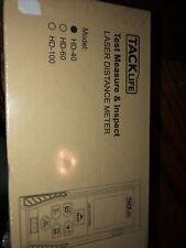 New Tacklife Hd 40 Test Measure Amp Inspect Laser Distance Meter New Sealed