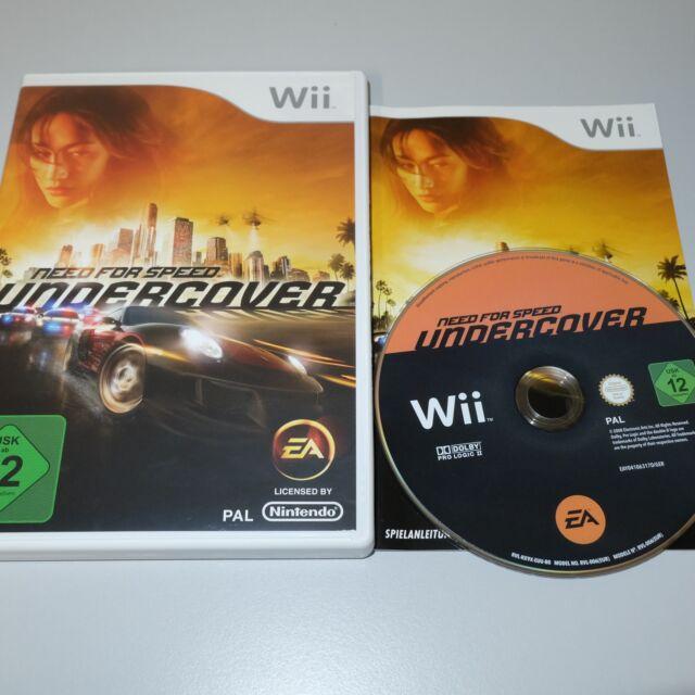 Besoin de Vitesse: Undercover Nintendo Wii