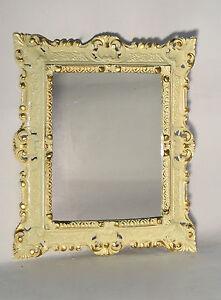 Espejo De Pared Antiguo Ovalado Negro Oro 45x37 Baño Barroco Oval Spiege Espejos Arte Y Antigüedades