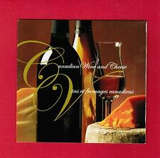 2006  CANADIAN wINE & CHEESE  CANADA STAMPS  BOOKLET  # 2168 / 2171 BK333  L950