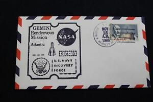 Naval-Espace-Housse-1966-Gemini-GTA-12-Recuperation-Bateau-Uss-Kennedy-Jr