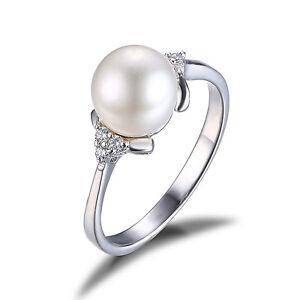 jewelrypalace einzigartige perle verlobung geschenk ring. Black Bedroom Furniture Sets. Home Design Ideas