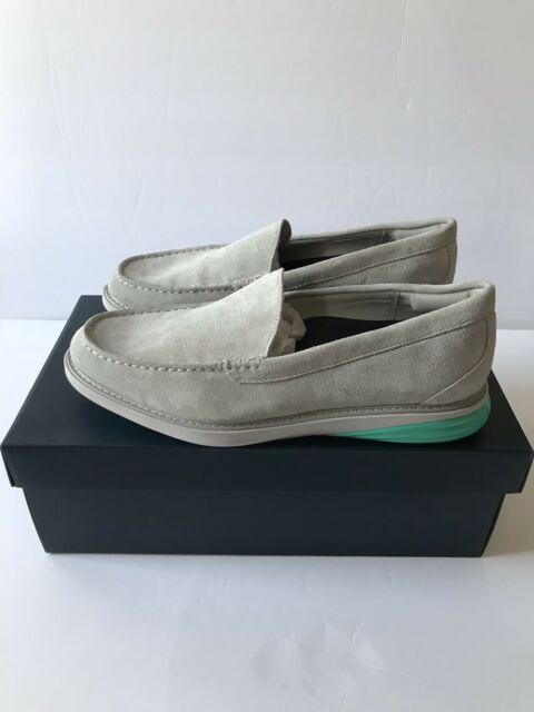 7a186f33494 Cole Haan Vapor Gray Pool GrandEvolution Venetian Loafer Size 10 C27886  250