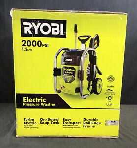 Ryobi RY142022VNM 2000PSI Electric Pressure Washer.