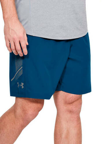 UNDER ARMOUR UA MEN/'S 8-in WOVEN GRAPHIC SHORTS S M L XL BLUE NEW NWT