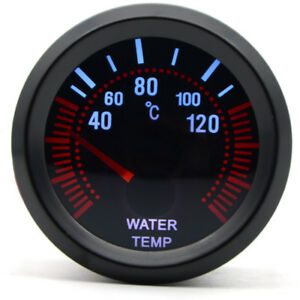 Details about 52mm AGG-1 Smoked Water Temp Temperature Gauge & 1/8npt Sensor