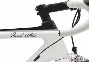 Wunschname-Fahrradaufkleber-60-Schriftarten-Text-Bike-Folie-Aufkleber-Sticker
