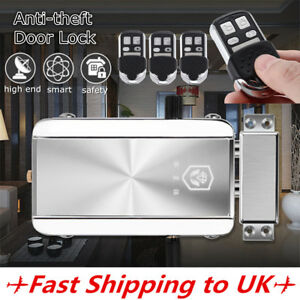 Remote-Control-Door-Lock-Wireless-Electronic-Anti-theft-Home-Security-Access