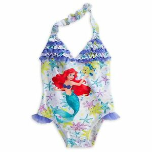 2e20f2bc28 Disney Store Princess The Little Mermaid Ariel 1 PC Swimsuit Girl ...
