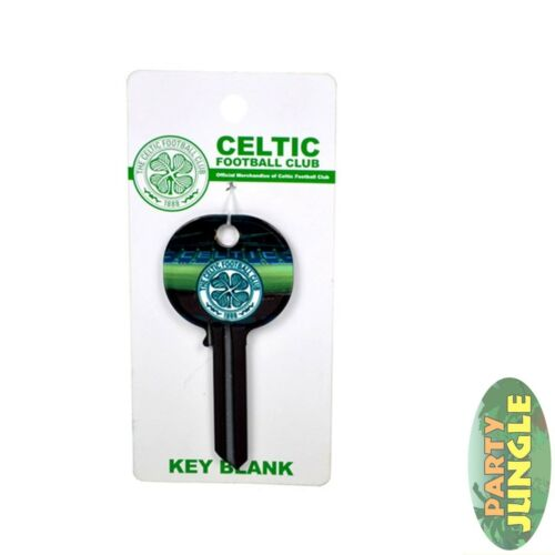 Celtic Key Blank Football Irlandais Soccer Lock Soccer Official Licensed Accessoire