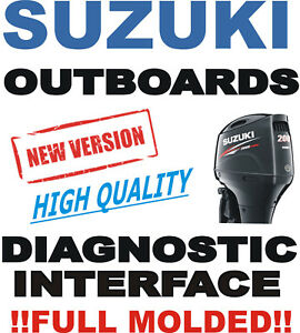 Details about Professional SUZUKI Outboard Boat Diagnostic Kit Cable  Interface USB SDS 8 0