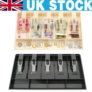 New Money Cash Drawer Tray Register Till Insert Coin Replacement Cashier Storage