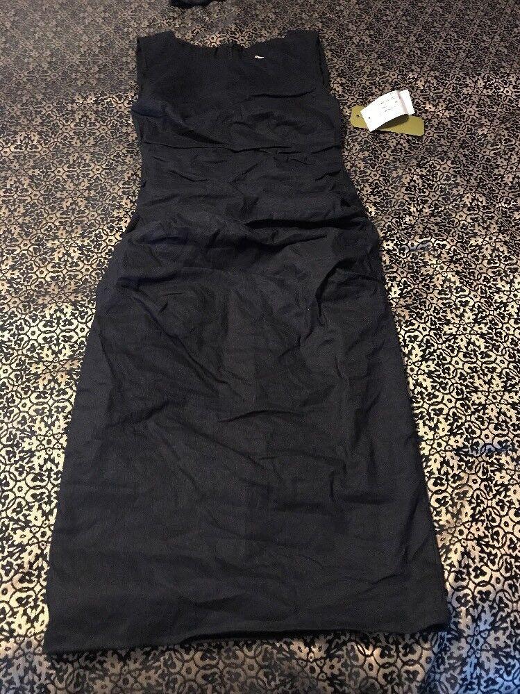 NICOLE MILLER  Artelier Sheath Ruched Dress Size 2