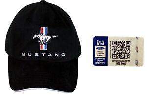 """Ford Mustang Cap /""""Pony/"""" 1a Qualität original Basecap lizenziert 2019 Kappe"""