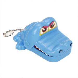 Coccodrillo-Bocca-denti-morso-Gioco-giocattolo-con-portachiavi-HK