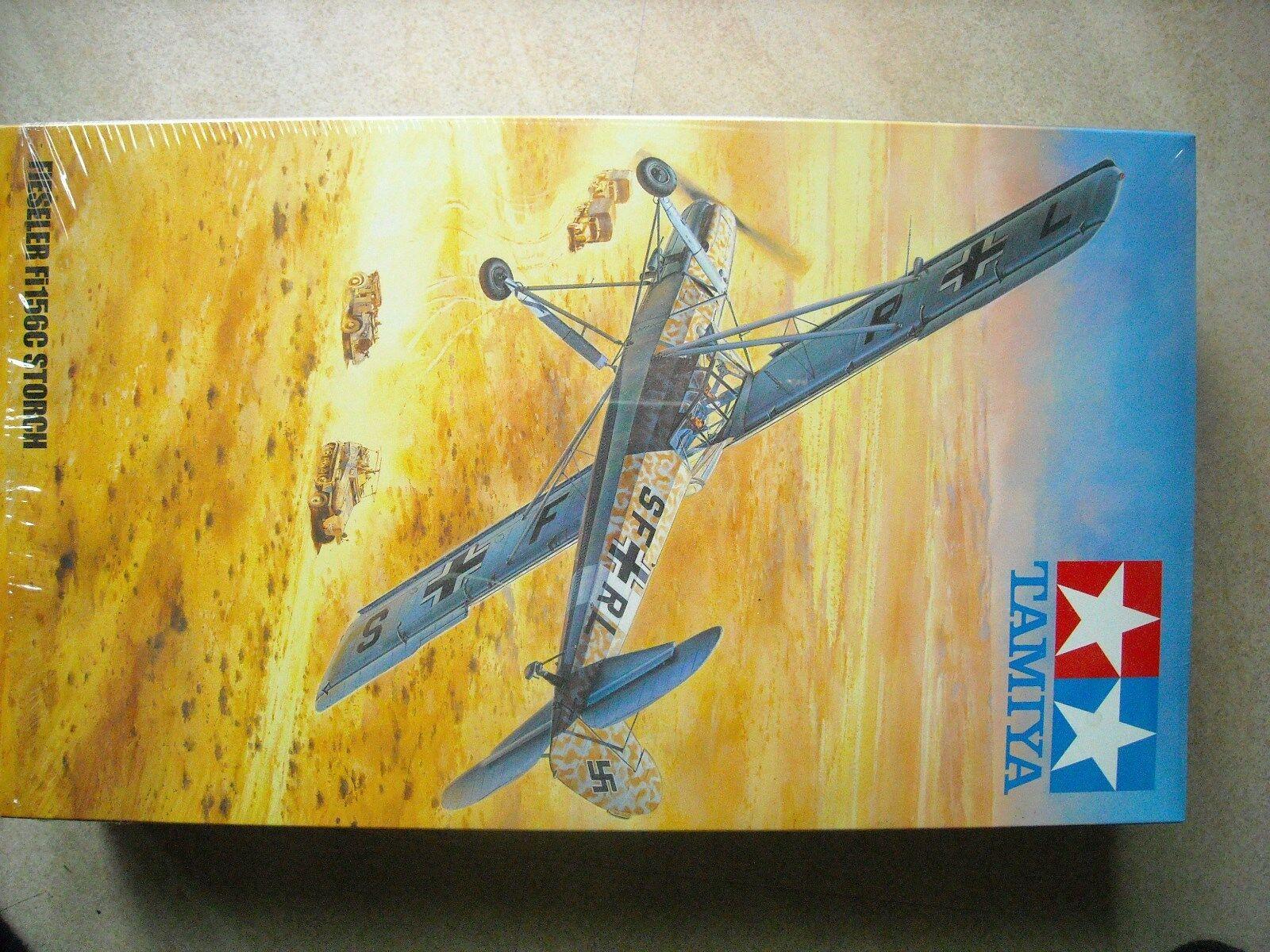 TAMIYA-1 48-FIESLER FI156C STORCH (MILESTONE 100YH. RELEASE)