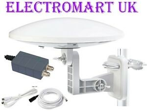 OMNI-DIRECTIONAL-CARAVAN-MOTOR-HOME-BOAT-TV-DIGITAL-FREEVIEW-BOOSTER-AERIAL-KIT
