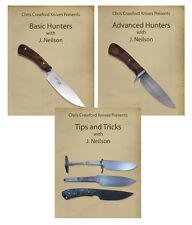Basic & Advanced Hunters plus Tips & Tricks with J. Neilson (3 Knifemaking DVDs)