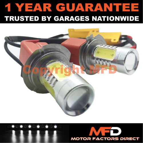 2X CANBUS WHITE H7 CREE DEL MAIN BEAM BULBS FOR BMW 1 3 5 6 7 SERIES X1 X3 Z4