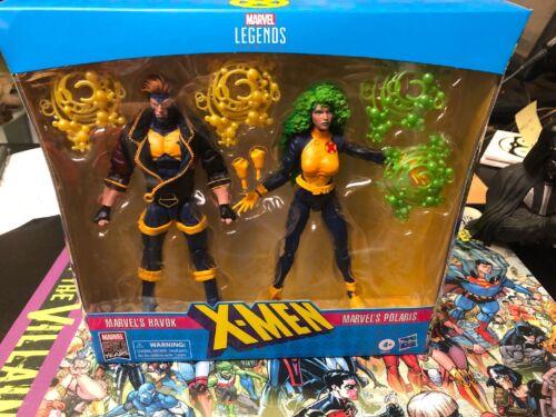 Marvel Legends 80th Anniversaire HAVOK /& Polaris 2-Pack NEUF difficile à trouver