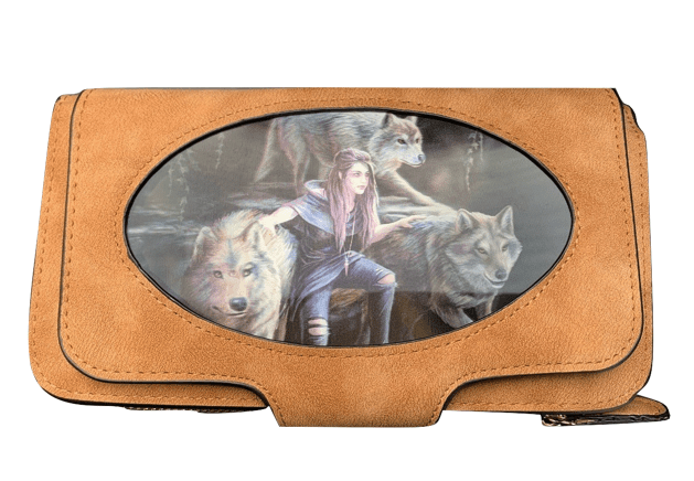 Anne Stokes Power of three 3D Lenticular purse/ wallet with gift box