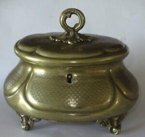 Ancienne Boite A Bijoux Coffret Guilloche Gout Rococo Antique Jewelery Box Remises Vente