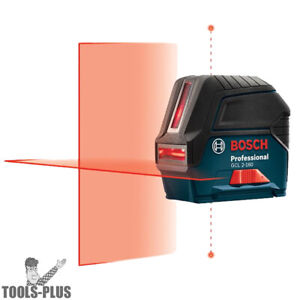 Bosch GCL-2-160-S-RT Self-Leveling Cross-Line Laser with Plumb Points