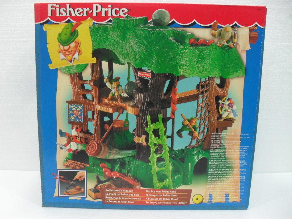 FISHER-PRICE La Foresta di ROBIN HOOD La scatola mostra i segni del tempo