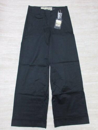 4 NEW Da-Nang Women/'s Casual Pants Gaucho Side Pockets BLACK CSS1915 Size