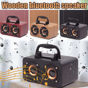 Portable-Wooden-Wireless-bluetooth-Speaker-Super-Bass-Stereo-Subwoofer-3-Types
